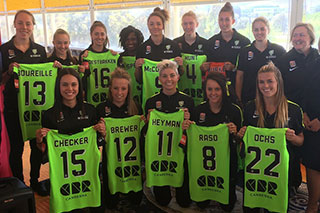 Proud sponsors of Canberra United