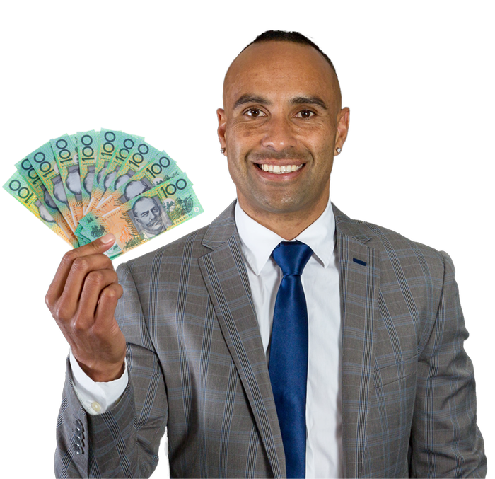 image of summerland football ambassador archie thompson