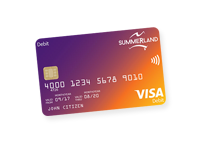 link to the visa debit card page
