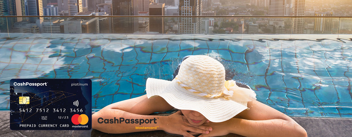 Your money travels fluently when it has its own passport