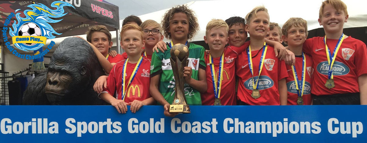 Proud sponsors of the Gold Coast Champions Cup
