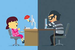 How to avoid a love affair with a scammer
