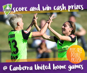 score and win at Canberra United home games